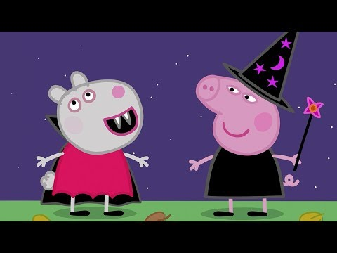 Peppa Pig Episodes - Halloween Party! 🎃 - Cartoons for Children