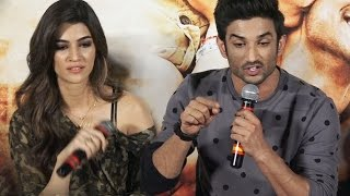 Kriti Sanon behind Sushant Singh Rajput's UGLY FIGHT with reporter at Raabta Launch?