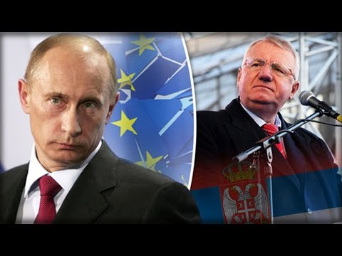 SERBIA TURNS BACK ON EU & COZIES UP WITH RUSSIA