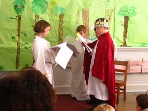 "St. Mary Star of the Sea Catholic School - 2nd Graders Playm, ""The King of the Golden City"""