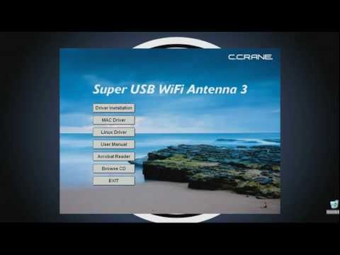 How To Install the Super USB WiFi Antenna 3 Software