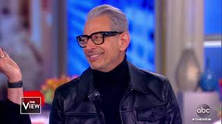 Jeff Goldblum Talks Social Media Presence and Disney+ Show | The View