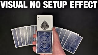 Impressive IMPROMPTU Card Trick With An UNEXPECTED Ending!