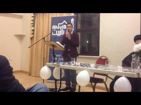 Abbas Haider Lalji - Milad un Nabi 2014 - Portsmouth & Southampton ABSoc