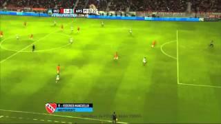 Gol de Mancuello. Independiente 1 - Arsenal 0. Fecha 6. Primera División 2015. FPT.