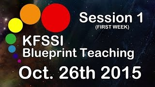KFSSI Blueprint Teaching HD #Session 1