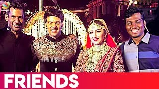 Vishal and Atlee at Arya & Sayyeshaa's Wedding | Latest Marriage Video