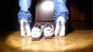 Nike Shox Rivalry White, sk8erboy socks and jeans