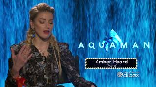 Anticipo: ENTREVISTA EXCLUSIVA con Amber Heard (Mera) de Aquaman