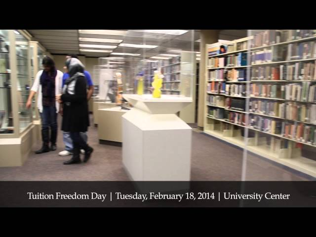 UM-Dearborn celebrates Tuition Freedom Day 2014
