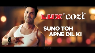 Lux Cozi Varun Dhawan TVC