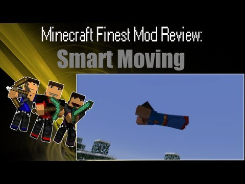 Minecraft: Mod Review - Smart Moving Mod