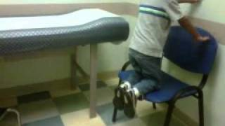 One sick child at the doctor's office!.3gp