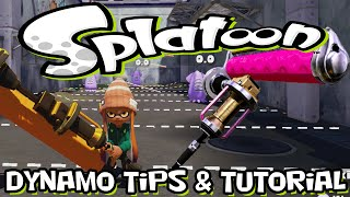Splatoon - Dynamo Rollers Quick Tips and tutorial