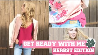 HERBST GET READY WITH ME | AUTUMN EDITION
