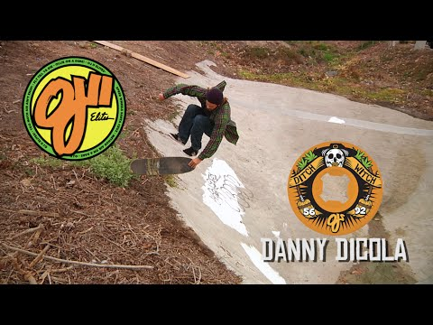 OJ Wheels: A minute of Ditch Destruction with Danny Dicola