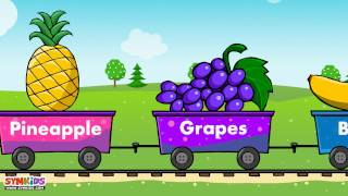 Fruits train | Fruits for kids | Train for kids