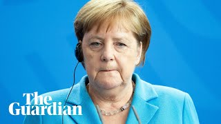 Angela Merkel insists she is 39fine39 after third bout of shaking in one month