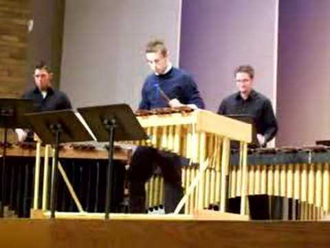 Xylophone Rag at Western Michigan University Video