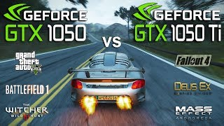 GTX 1050 vs GTX 1050 Ti Test in 7 Games