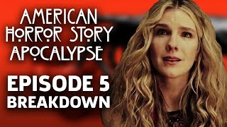 "AHS: Apocalypse Season 8 Episode 5 ""Boy Wonder"" Breakdown!"