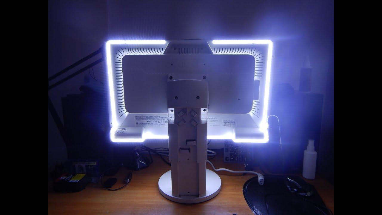 Подсветка для монитора своими руками