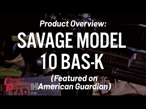 Savage Model 10 BAS-K on American Guardian - Gun Locker