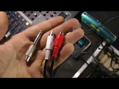 Как подключить рекордер к микшерному пульту