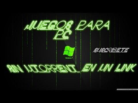 Descargar Juegos Para Pc (1 Link) 2013-2014