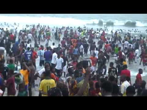 African music dance Ghana Labadi Beach
