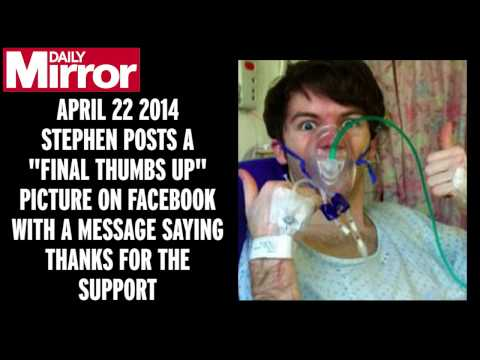 A tribute for brave Stephen Sutton's incredible journey
