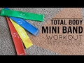 Download Total Body Mini Band Workout | MFit