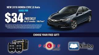 Price Honda has Black Friday Specials all month long!