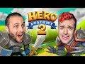 SSUNDEE VS MRCRAINER: WHO IS THE BETTER HERO?! (Hero Academy 2)