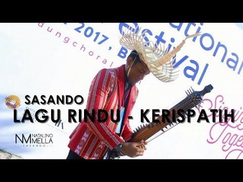 Lagu Rindu (KERISPATIH) Sasando Perform 6th BICF 2017