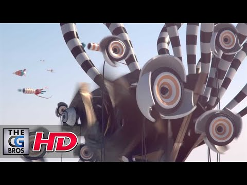"""CGI Animated Promo HD: """"Pause Fest 2014 ID - Airspace"""" - by Rich Nosworthy"""