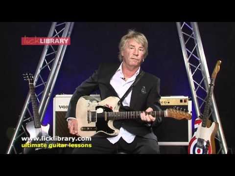 Chords For Beginner Guitarists - Rick Parfitt Guitar Tips Session 7