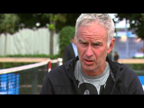 Tennis - ATP Champions Tour: Interview with John McEnroe @ Optima Open