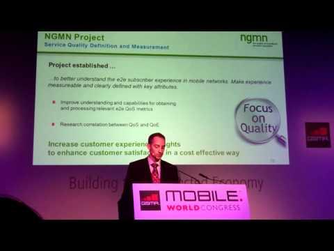 NGMN - MWC12 -Technology Evolution  Network Architecture Evolution - Telecom Italia Labs