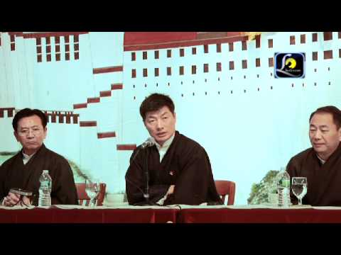 Lhaksam Video Kalon Tripa Dr.Lobsang Sangay  speech part 3 in New York