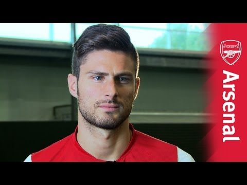 Arsenal Ink: Olivier Giroud