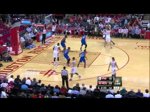 Houston Rockets Amazing ball movement-Sequence vs 76ers