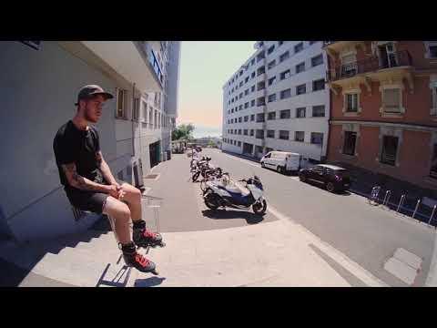 Rollerblade Twister Edge X 2018 - Maxime Genoud