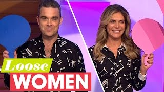 Robbie And Ayda Play Mr & Mrs! | Loose Women