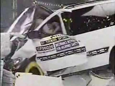 Crash Test 1997 - 2005 Pontiac Trans Sport Montana Video