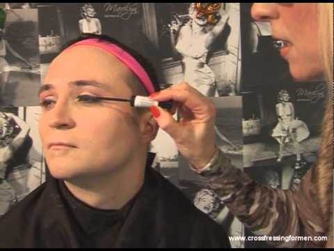 Cross Dressing For Men Presents Day Wear For Eyes Step 1 Mascara