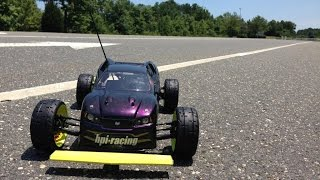 HPI e Firestorm 130 mph Worlds fastest