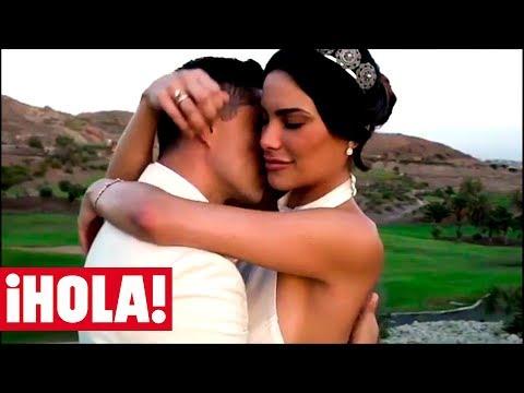 La romántica boda de la ex Miss Universo Carla Barber en Canarias