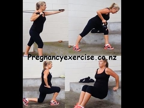 Pregnancy Exercise: Second Trimester 20 weeks Twin Pregnancy