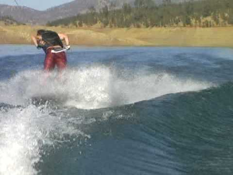 Chris Broderick (Megadeth) Wakeboarding 2008